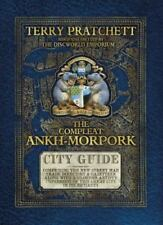 The Compleat Ankh-Morpork by Terry Pratchett Complete Discworld City Guide w Map