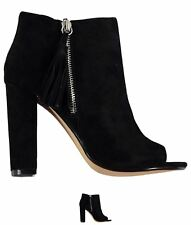 MODA Steve Madden Capitaal Boots Black Suede