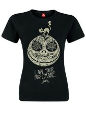 The Nightmare Before Christmas I Am Your Nightmare Girl Shirt black