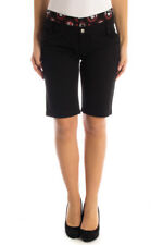 *50554 SHORTS DONNA  EMILY THE STRANGE COLORE NERO