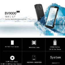 Blackview BV9000 4G Smartphone 5.7'' Android 7.1 Octa Core 2.6GHz 4GB 64GB
