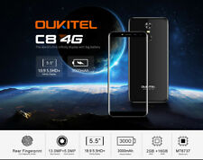 OUKITEL C8 4G Smartphone 5.5'' Android 7.0 MTK6737 Quad Core Touch Sensor 8.0MP