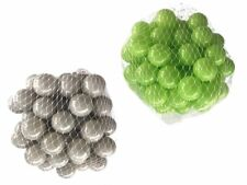 100-10000 Piscina de bolas pelotas 55mm MIX VERDE CLARO Gris Mixto Colores Baby