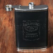 Stylish Pocket Liquor Hip Flask Whiskey Vodka Alcohol Wine Flagon Bottle 9oz