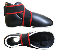 sparring Boots Pads Top pro Size M Red Kick Boxing Itf Taekwondo0