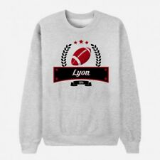 Sweat Adulte Gris Club de Rugby - Lyon