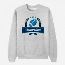 Sweat Adulte Gris Club de Rugby - Montpellier