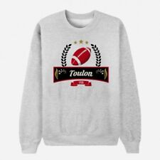 Sweat Adulte Gris Club de Rugby - Toulon