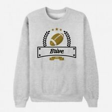 Sweat Adulte Gris Club de Rugby - Brive