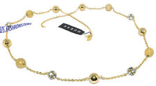 GUESS DONNA GIOIELLO COLLANA NECKLACE COLLANA CIONDOLO ORO STRASS BEAUTY