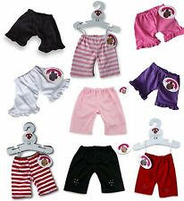 Teddy Bear Clothes Fits Build a Bear oursons pantalon leggings Bandes & plan