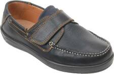 Cosyfeet Extra Roomy Woody Mens Boat Shoes 2 Colours 3H Fitting UK Sizes