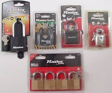 Master Lock Excell Padlock Ex Series Fusion 2 196DSN 7804EURD 140EFGQNOP