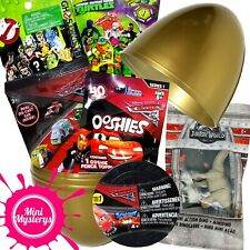 SURPRISE EGG GIFT BUNDLE 7 TOYS Cars 3 Diecast, Ooshies, Ice Racers Blind Bags