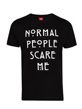 American Horror Story Normal Gente CAMISETA NEGRA