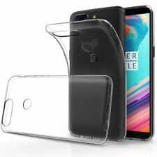 Ultra Thin 0.3mm Clear Silicone Soft Gel Skin Back Case Cover For New Oneplus 5T