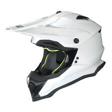 NOLAN N53 SMART BIANCO Off-road Motocross/Motocross MX Enduro casco da moto
