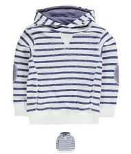 MODA Crafted OTH Hoody Infant Boys Oatmeal Stripe