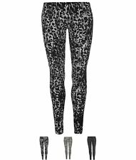 BRAND Golddigga Lux Leggings Ladies Blk/Char Animal