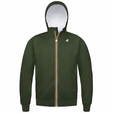 KWAY Uomo  Giubbino K-WAY JUSTIN PLUS SPONGE K0078R0 D05 GREEN DKT ESTATE 2018