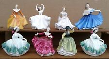 ROYAL DOULTON - MINIATURES SERIES - SELECTION OF BONE CHINA FIGURINES.