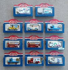 LLEDO - PEPSI COLA - SELECTION OF DIE CAST COLLECTABLE MODELS - BOXED.