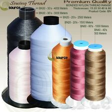 Strong Bonded Nylon Thread 20's 30's 40's 60's 500 To 4000 Meters THREADS