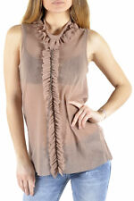 *71839 BLOUSE DONNA  SEXY WOMAN COLORE BEIGE