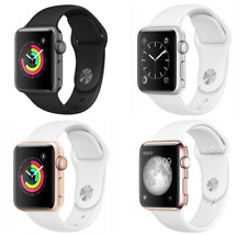 Apple Watch Series 1 38mm Aluminum Case - Space Gray Silver Gold Rose Sport Band