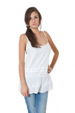 *50838 CANOTTA DONNA  PHARD COLORE BIANCO