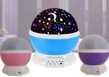 4 LED Starry Night Sky Rotating Projector Lamp Star light Cosmos Master Romantic