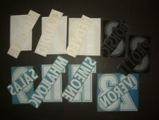 KIT NOME+NUMERO UFFICIALI SS LAZIO HOME/AWAY/CL 1998-2002 OFFICIAL NAMESET PLsz