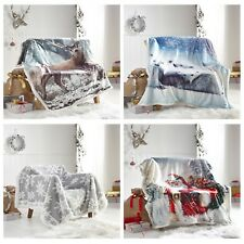 Pieridae Soft Sherpa Throw Warm Fur Fleece Bed Sofa Blanket 130cm x170cm
