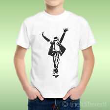 T-Shirt Bambino Ragazzo Logo Michael Jackson This Is It Cappello Idea Regalo