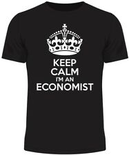 Keep Calm I'm an Economist Men's T Shirt Funny Humour Gift Birthday Economy