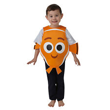 Childs Disney Finding Nemo Dory Boys Girls Fancy Dress Costume Outfit 620673