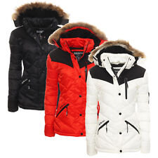 Geographical Norway giacca invernale Donna Parka Trapuntata corta
