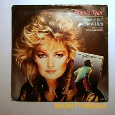 """BONNIE TYLER - HOLDING OUT FOR A HERO - 7""""  Vinyl Record : EX (p742)"""