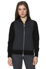 *70898 CARDIGAN DONNA  FRED PERRY COLORE NERO