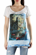 *86638 T-SHIRT DONNA  SEXY WOMAN COLORE MULTICOLORE