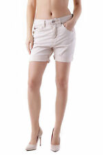 *83587 SHORTS DONNA  SEXY WOMAN COLORE BEIGE