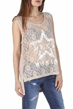 *86059 BLOUSE DONNA  SEXY WOMAN COLORE BEIGE