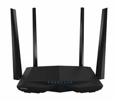 Tenda AC6 Dual-band (2.4 GHz / 5 GHz) Fast Ethernet Black wireless router AC1200