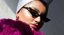 Quality High Fashion Designer Cat Eye Tiny Sunglasses Vintage designer retro