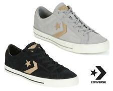 New Converse Star Player Ox Suede Shoes UK 6 - 11 Black Grey trainers sneakers