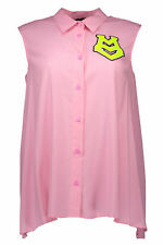 *67280 CAMICIA DONNA  LOVE MOSCHINO COLORE ROSA