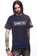 CAMISETA SAMCRO FRONT & ARM REAPER - SOA SONS OF ANARCHY REDWOOD 1967