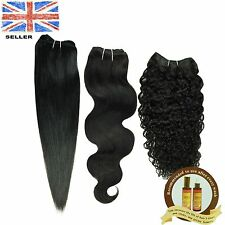 Brazilian GLAMOUR Human Hair 100% Remy Hair Extension Weave 105g Unprocessed