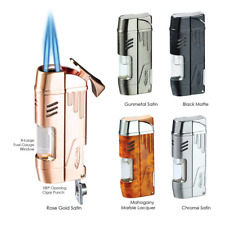 Vector KGM Delta Double Jet-Torch Lighter  - All Colors, FAST Free Shipping