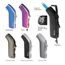 Vector KGM Apollo Double Jet-Torch Lighter  - All Colors, Free FAST Shipping